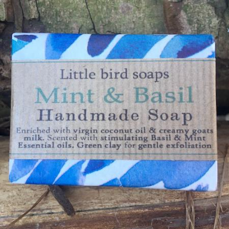 Mint & Basil Soap